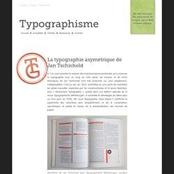 La typographie asymétrique de Jan Tschichold