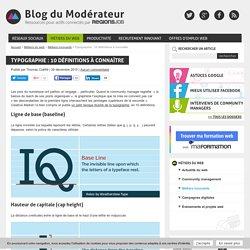 Typographie : 10 définitions à connaître
