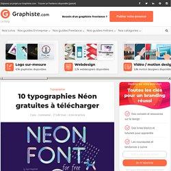 10 typographies Néon gratuites à télécharger