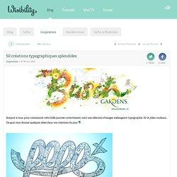 50 créations typographiques splendides