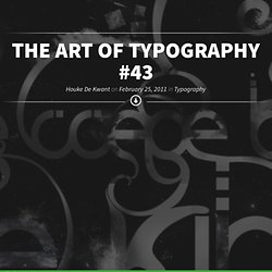 The Art of Typography #43