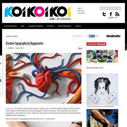 Creative typography by Happycentro