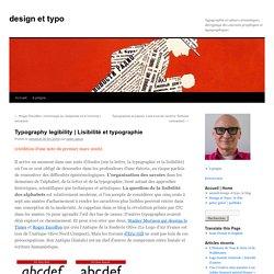 Lisibilité et typographie