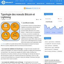 Typologie des noeuds Bitcoin et Lightning