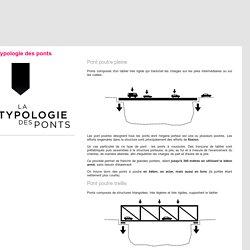 Typologie des ponts