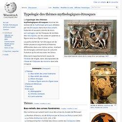 Typologie des thèmes mythologiques étrusques