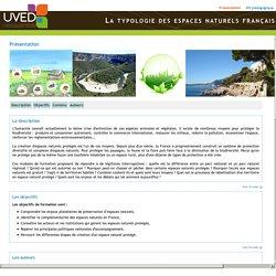 La typologie des espaces naturels français