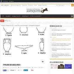 Typologie des vases grecs