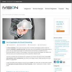 Les 4 typologies du Cloud Computing - Ivision