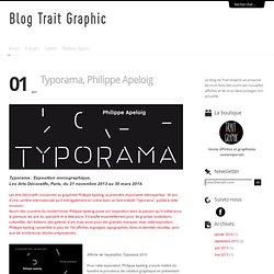 Typorama, Philippe Apeloig