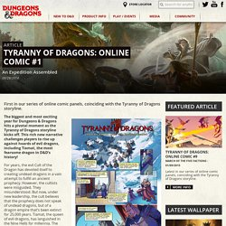 Tyranny of Dragons: Online Comic #1