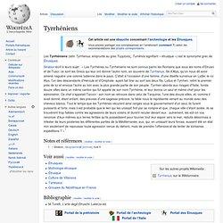 Tyrrhéniens