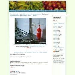 Recette Vidéo : la tzwatsckawaya alsacienne ( tarte ) - recettes-videos.com - retrouvez 32 recettes de cuisine en vidéos