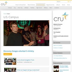 Campus Crusade for Christ – The Campus Ministry