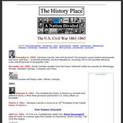 U.S. Civil War 1861-1865