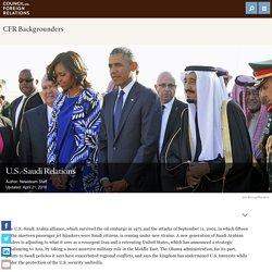U.S.-Saudi Relations