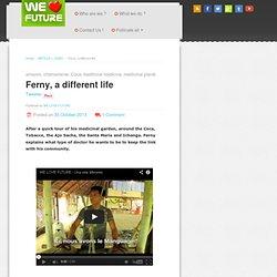 Rencontre avec Ferny, un étudiant du peuple Murui