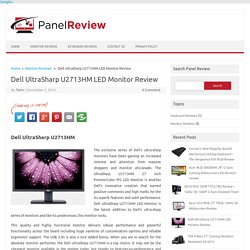 Dell U2713HM Review - The Best Pro Gaming Monitor 2014