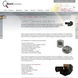 UAV Camera solutions