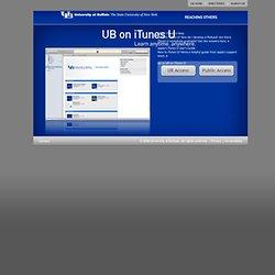 UB on iTunes U