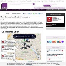 Uber dépasse le milliard de courses