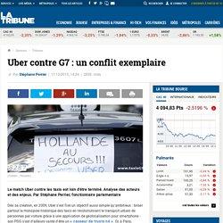 Uber contre G7: un conflit exemplaire