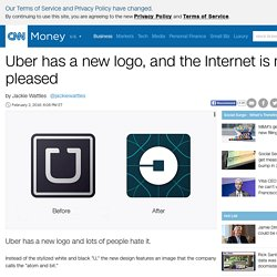 Uber has a new logo, and the Internet is not pleased - Feb. 2, 2016