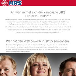 HRS Businesshelden 2016