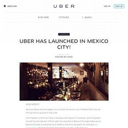 has launched in Mexico City!