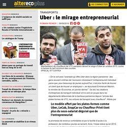 Uber : le mirage entrepreneurial
