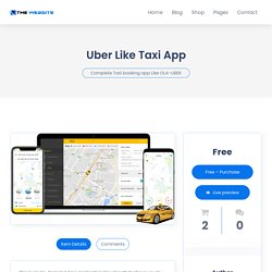 Get the Complete Taxi booking app Like OLA-UBER