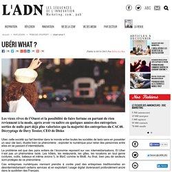 Ubéri what ? - Tribune d'expert