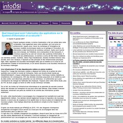 impact-peut-avoir-uberisation-applications-systeme-information-securite