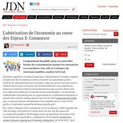 L'ubérisation de l'économie au coeur des Enjeux E-Commerce