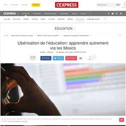 Ubérisation de l'éducation: apprendre autrement via les Moocs