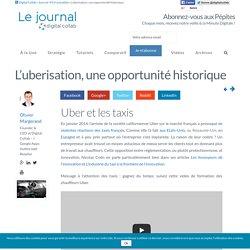 L' uberisation, une opportunité historique - Digital Journal