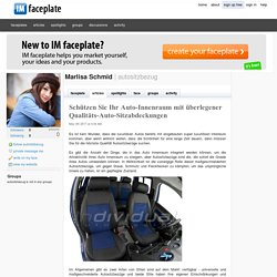 Überlegene Qualität Auto Sitzbezüge