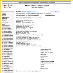 Überleitungen für Gedichtinterpretation und Aufsatz