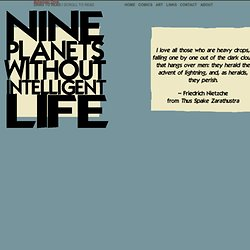 Ubermensch : Nine Planets Without Intelligent Life : Bohemian Drive