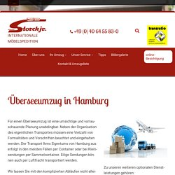 Überseeumzug in Hamburg