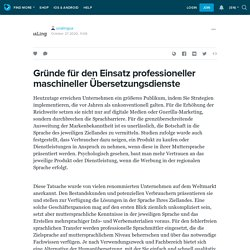 Gründe für den Einsatz professioneller maschineller Übersetzungsdienste: unalingua — LiveJournal