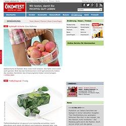 www.oekotest.de ÖKO-TEST Online Übersicht Ernährung / Essen / Trinken
