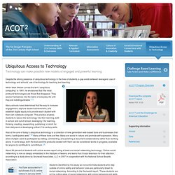 ACOT2 - Ubiquitous Access to Technology