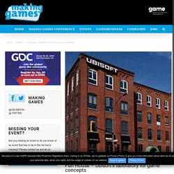 Ubisoft Fun House – A laboratory for game concepts
