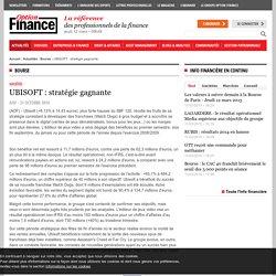 UBISOFT : stratégie gagnante