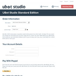UBot Studio - Marketing Automation Bot Creation Software