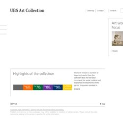 The UBS Art Collection : Home