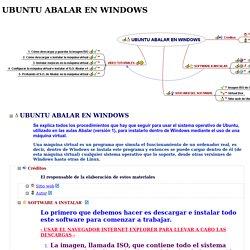 UBUNTU ABALAR EN WINDOWS