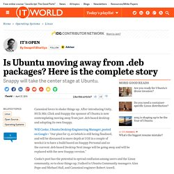 Is Ubuntu moving away from .deb packages? Here is the complete story