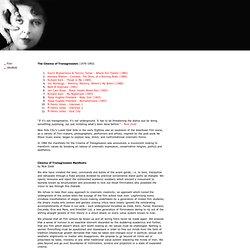 U B U W E B : Cinema of Transgression